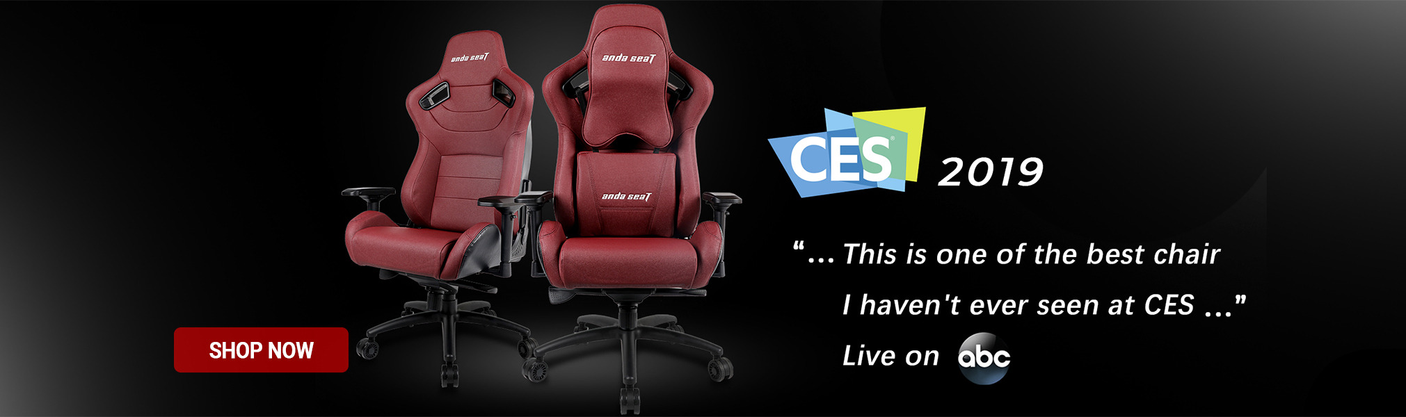 CES - one of the best chair - Anda Seat