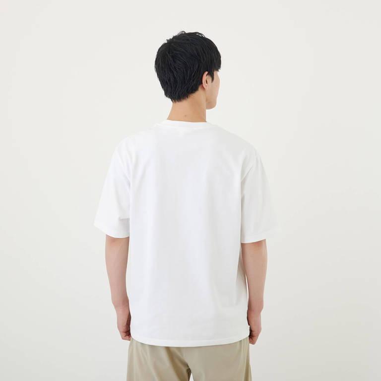MXP(エムエックスピー)/ビッグティーウィズポケット/ホワイト/MENS