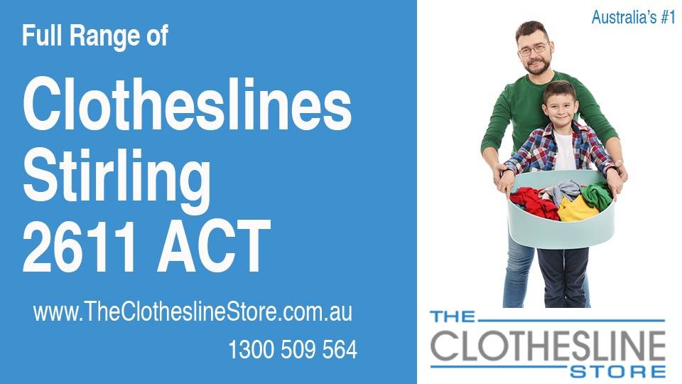 New Clotheslines in Stirling ACT 2611