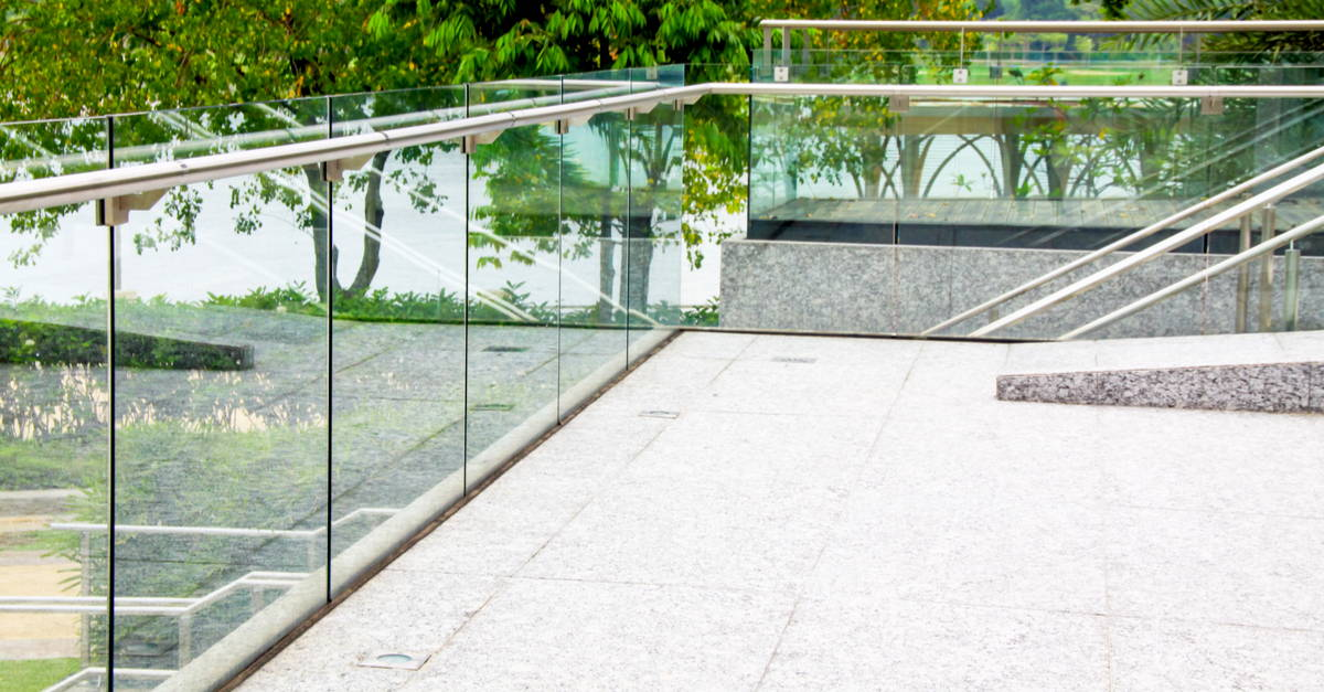 Glass Handrails and Stairwells