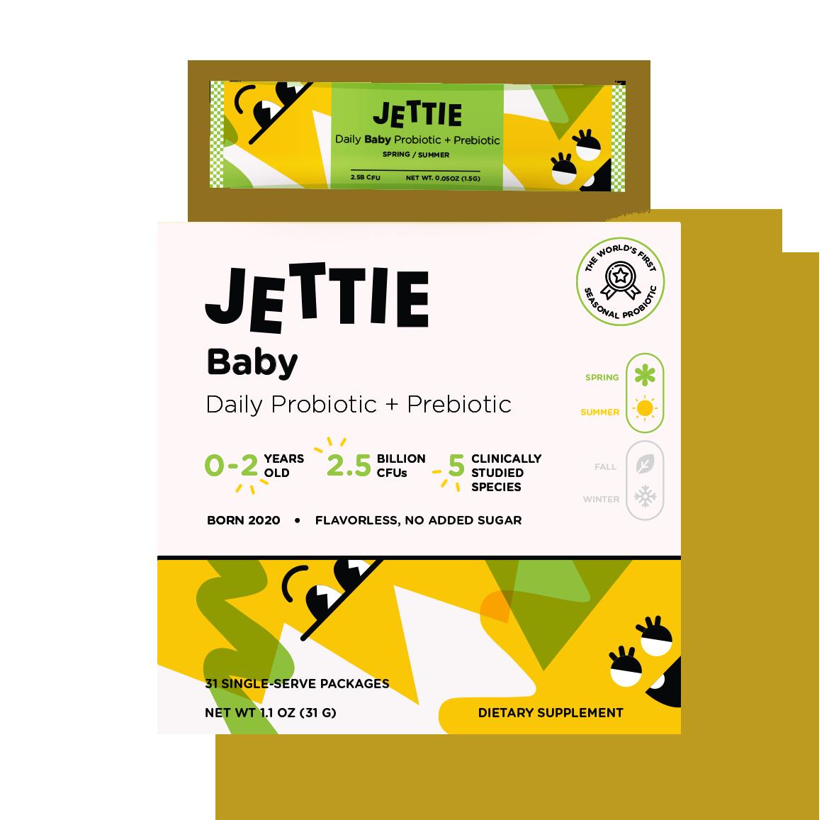 Jettie Baby Probiotic & Prebiotic