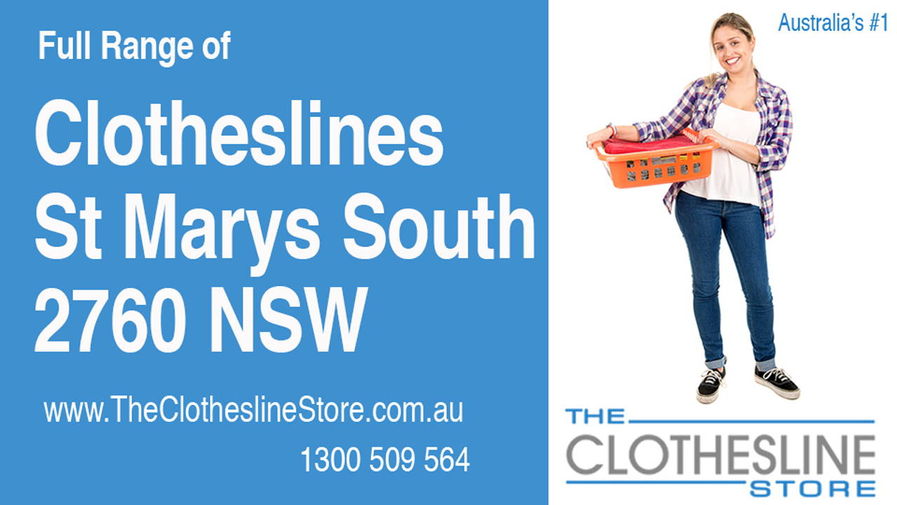 New Clotheslines in St Marys South 2760 NSW