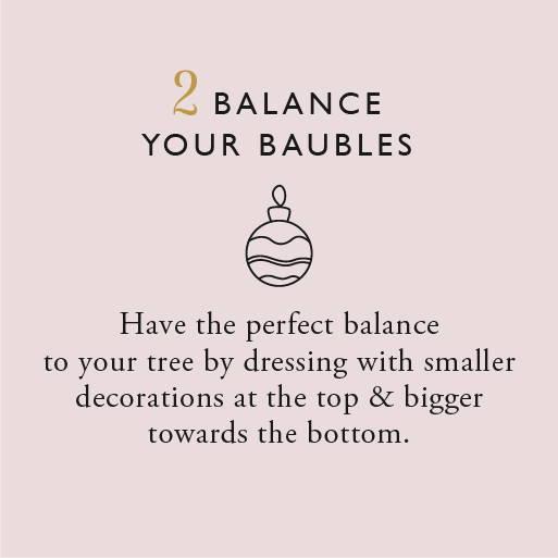 Balance your baubles