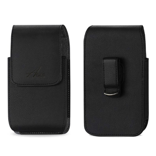 Jitterbug Lively Flip Leather Case with Metal Belt Clip