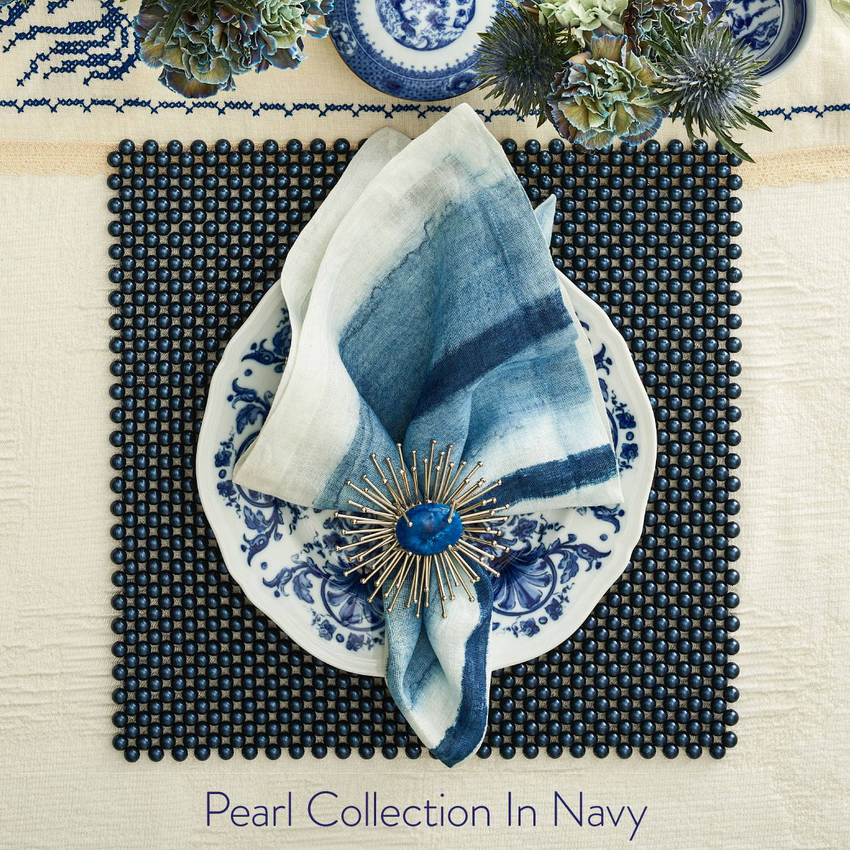 THE PEARL COLLECTION IN NAVY