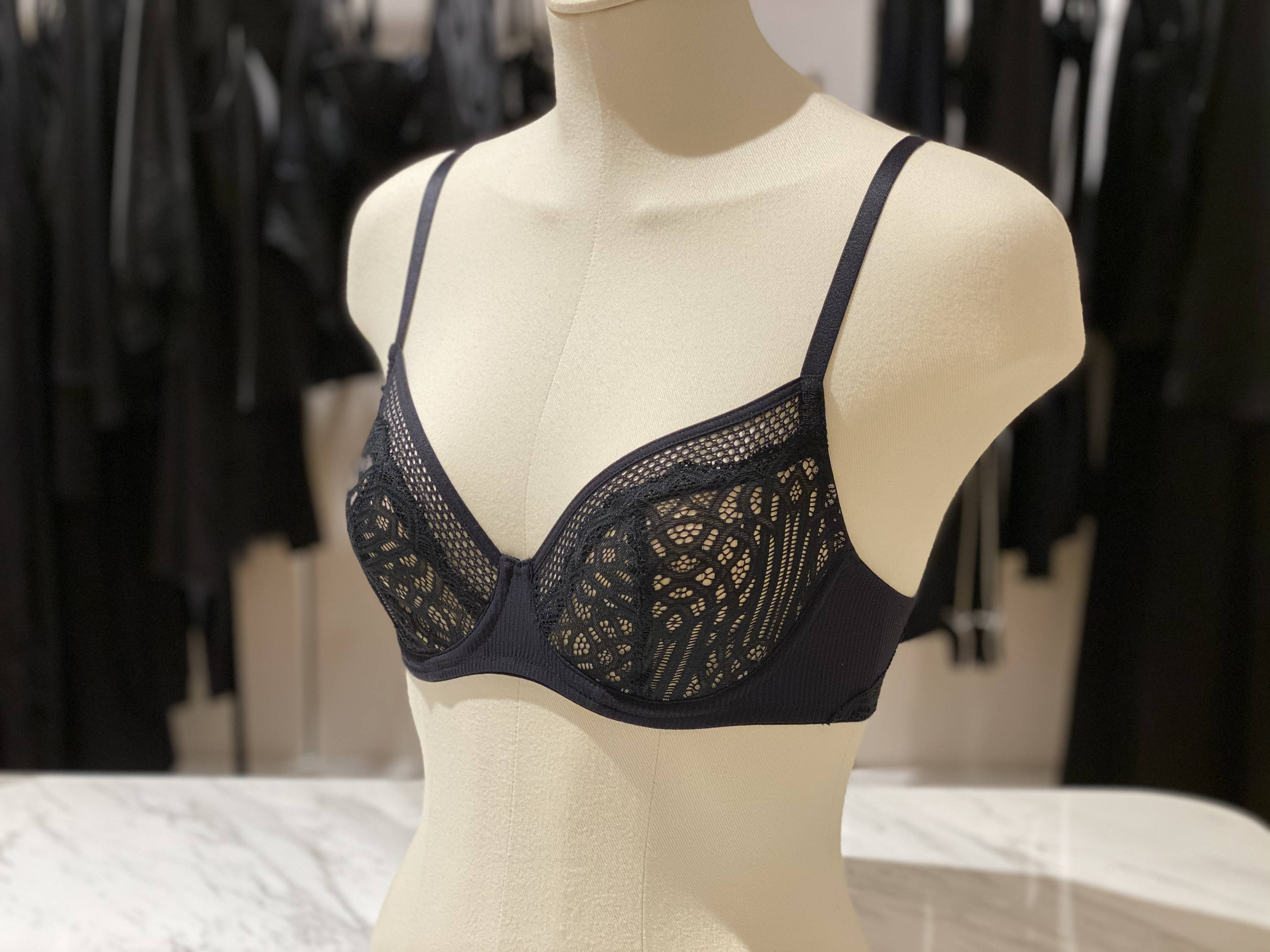 Hanro Nala Underwired Bra Sheer lingerie