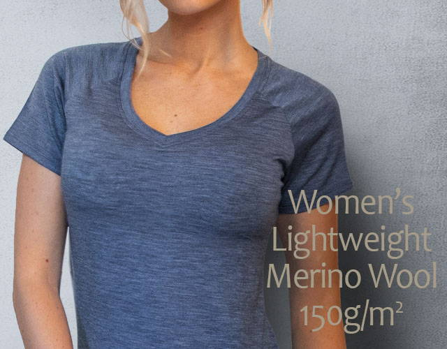 Women's Merino Wool Athletic Tees | Free Shipping | Woolx