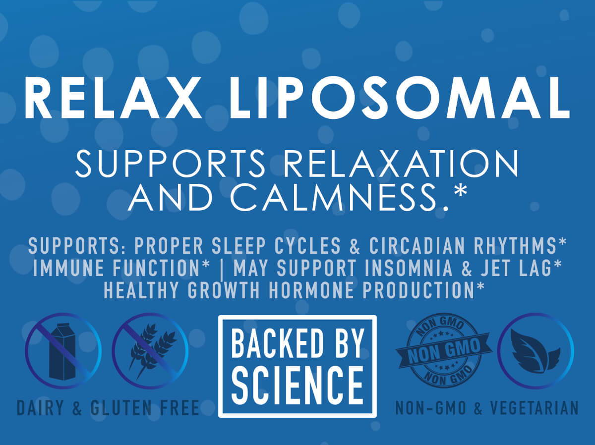Relax Liposomal - Supports Relaxation and Calmness - NuEthix