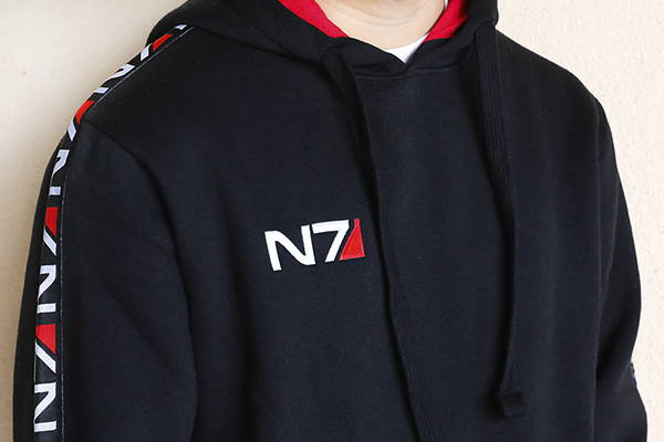 Product image of the Mass Effect Space Champion Hoodie
