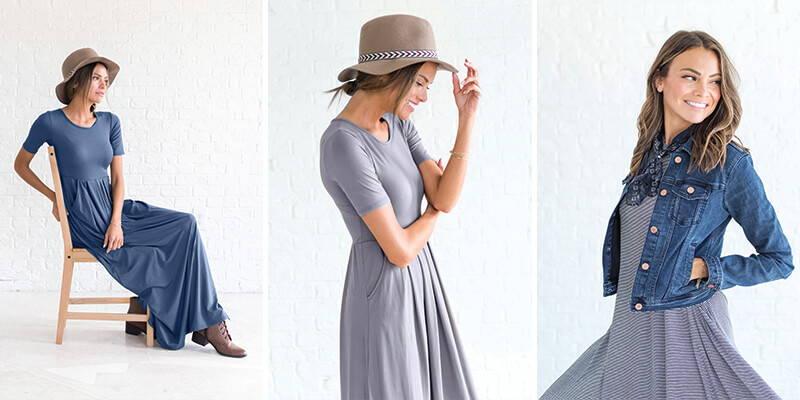 wardrobe essentials comfy boutique dresses from bella ella boutique