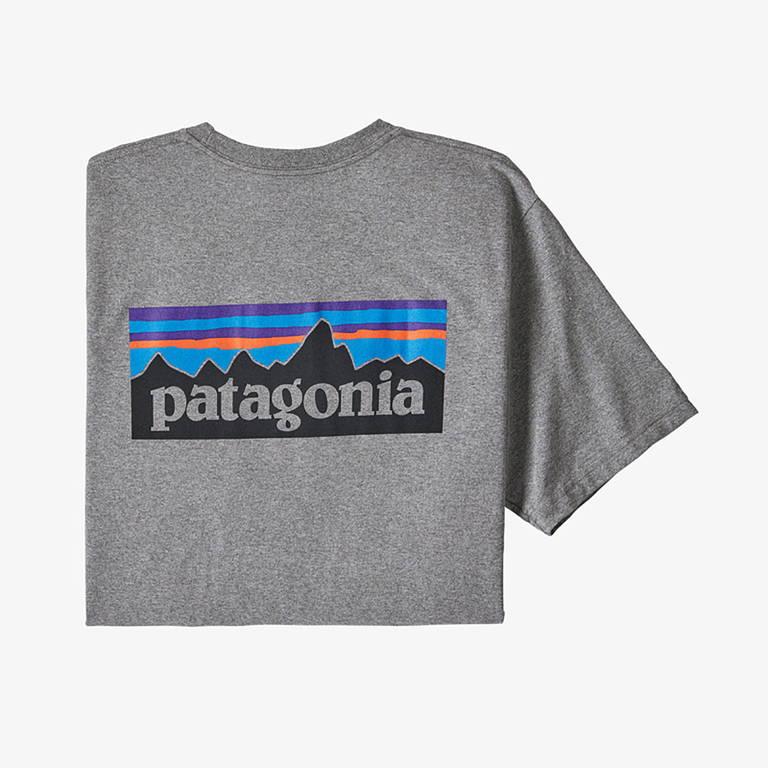 patagonia(パタゴニア)/P-6ロゴ レスポンシビリティー/グレー/MENS