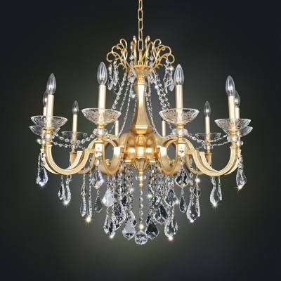 Allegri Lighting Crystal Pendants, Chandeliers, Wall Sconces, & Ceiling Lights - Barret Collection