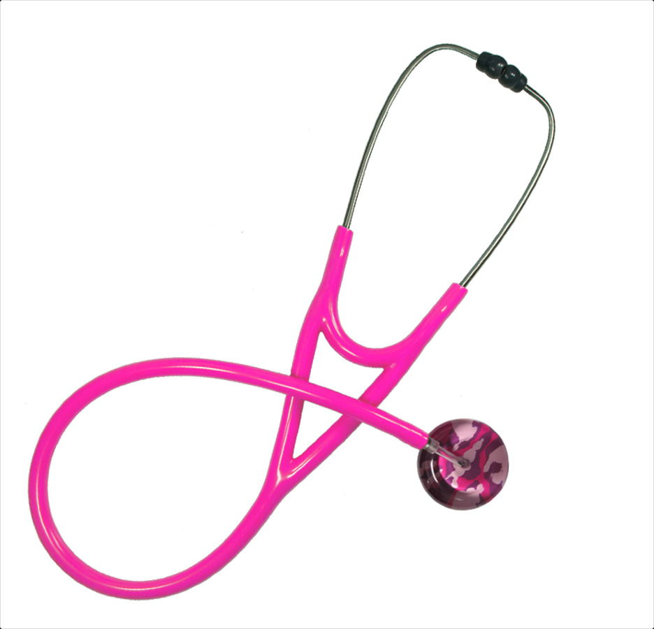 pink customizable stethoscopes