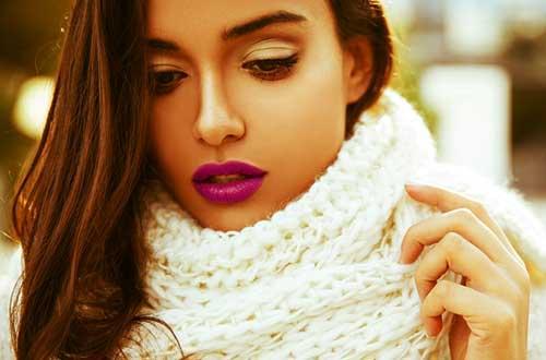 Plum & York So Kissable fuchsia lipstick in Peruvian Pom Pom lipstick