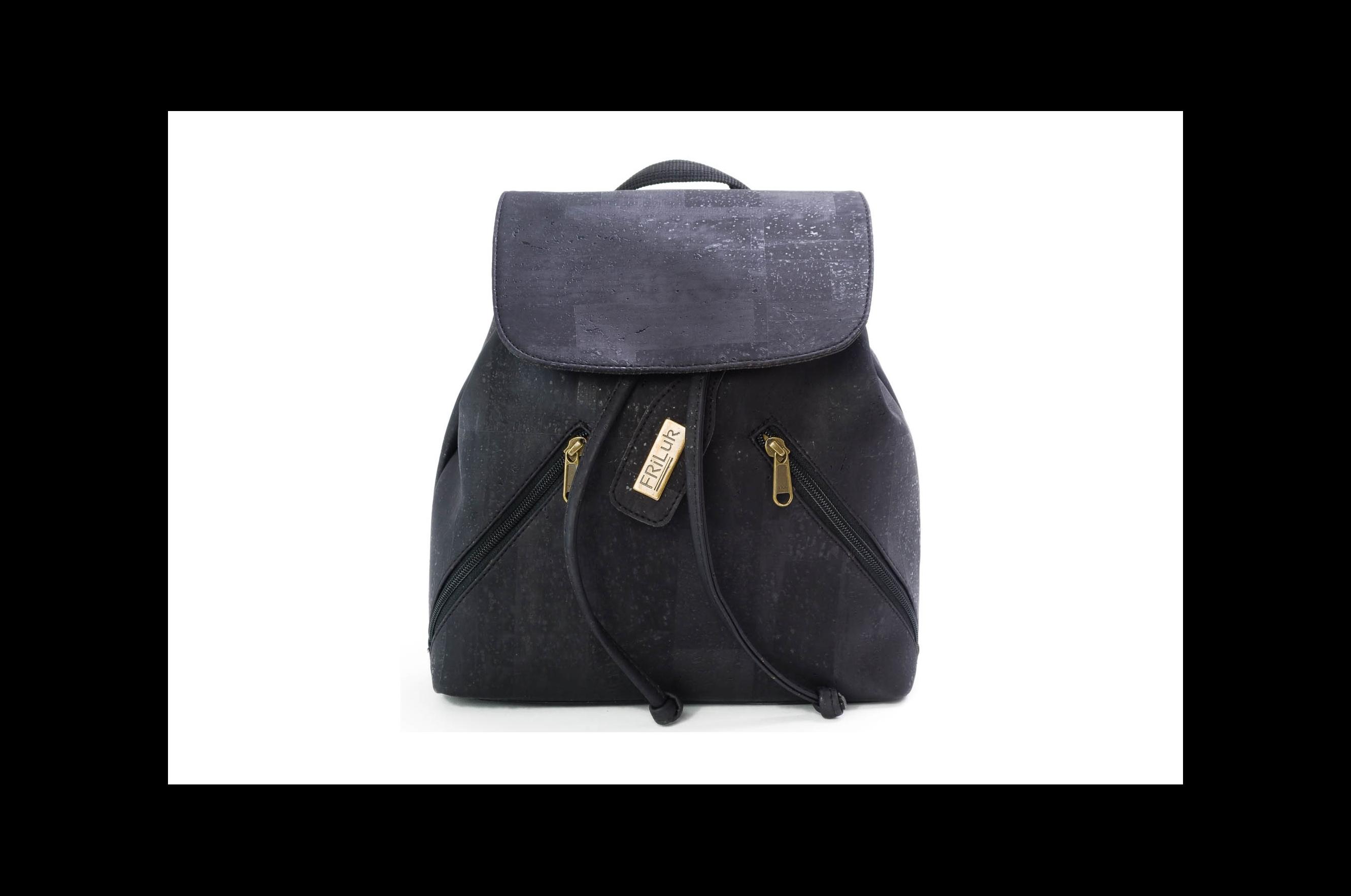 Vegan Backpack Black