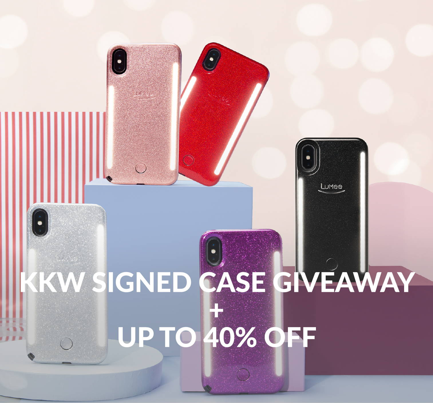 new product 0a89f 2cc60 KKW Signed Case giveaway – LuMee