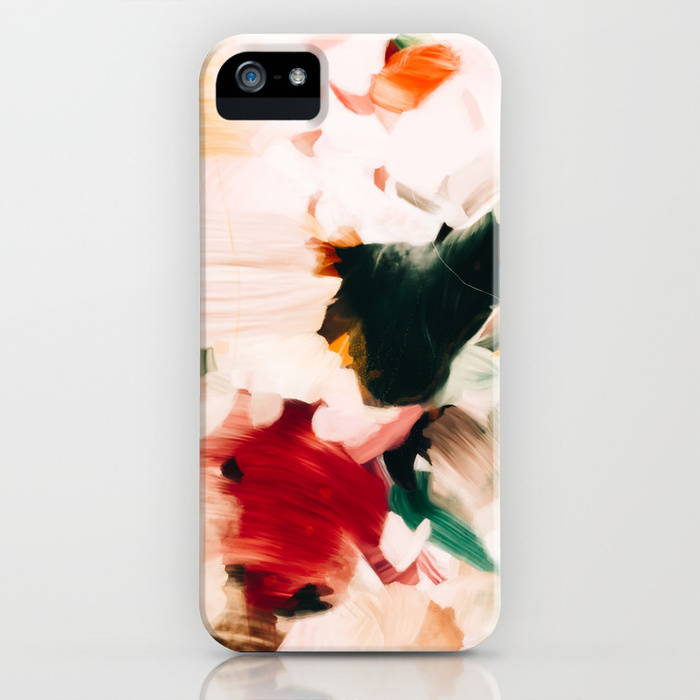 Rosalie iPhone case by Parima Studio