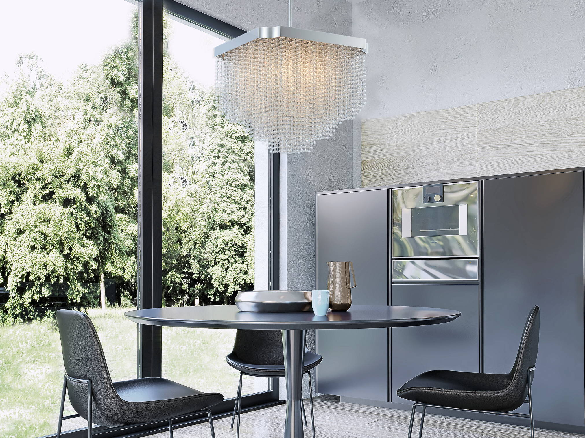 Tenda collection  crystal kitchen lightingby Allegri