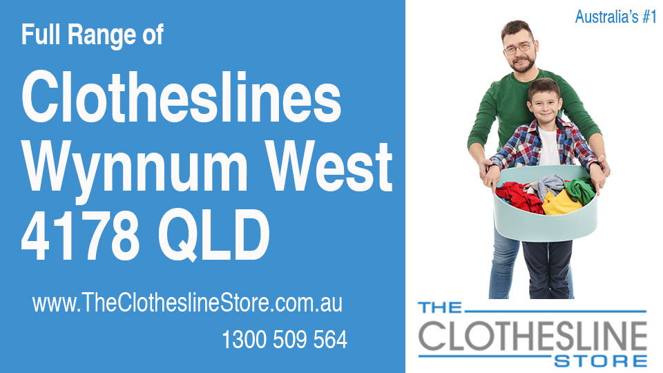 New Clotheslines in Wynnum West Queensland 4178