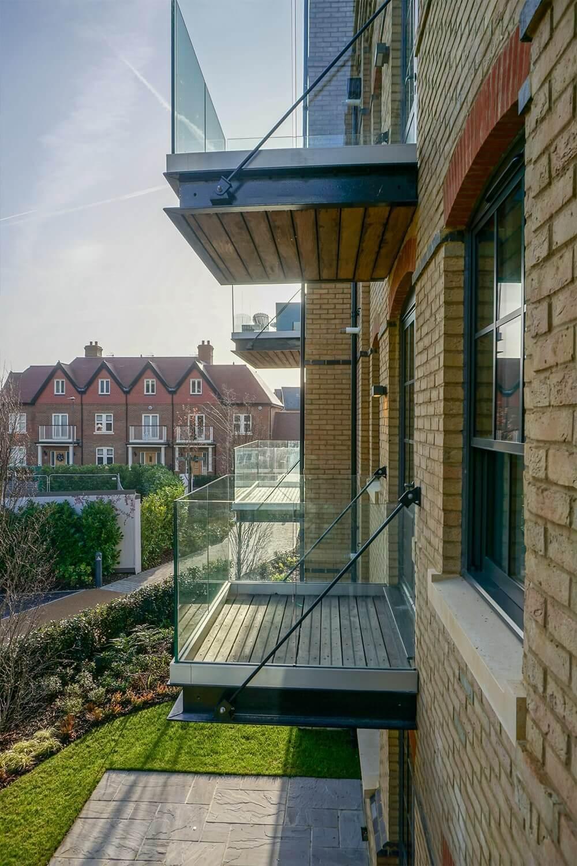Terrasse antidérapante pour balcon Cumaru
