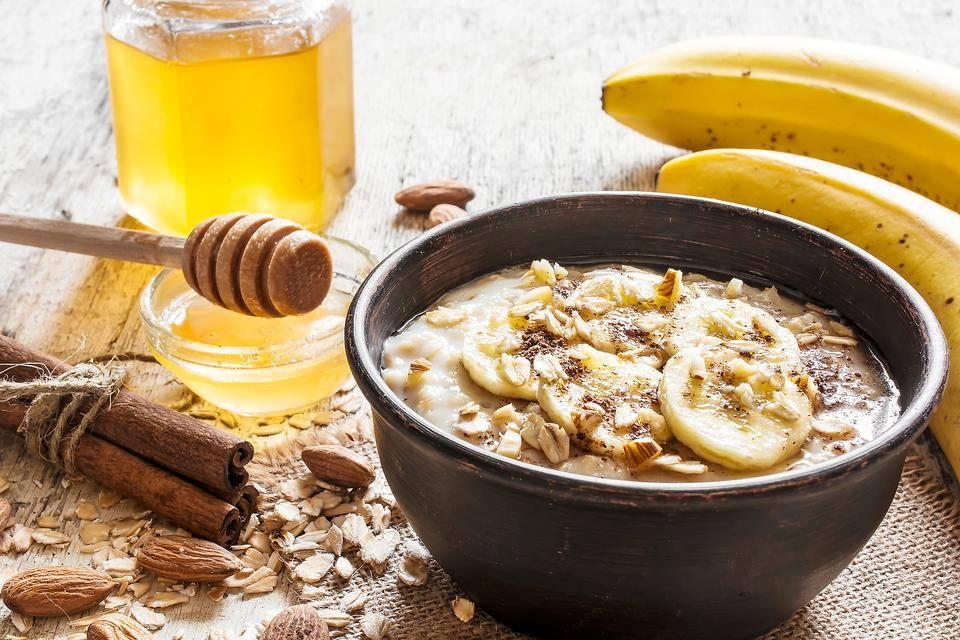 Banana Oatmeal Honey Mask