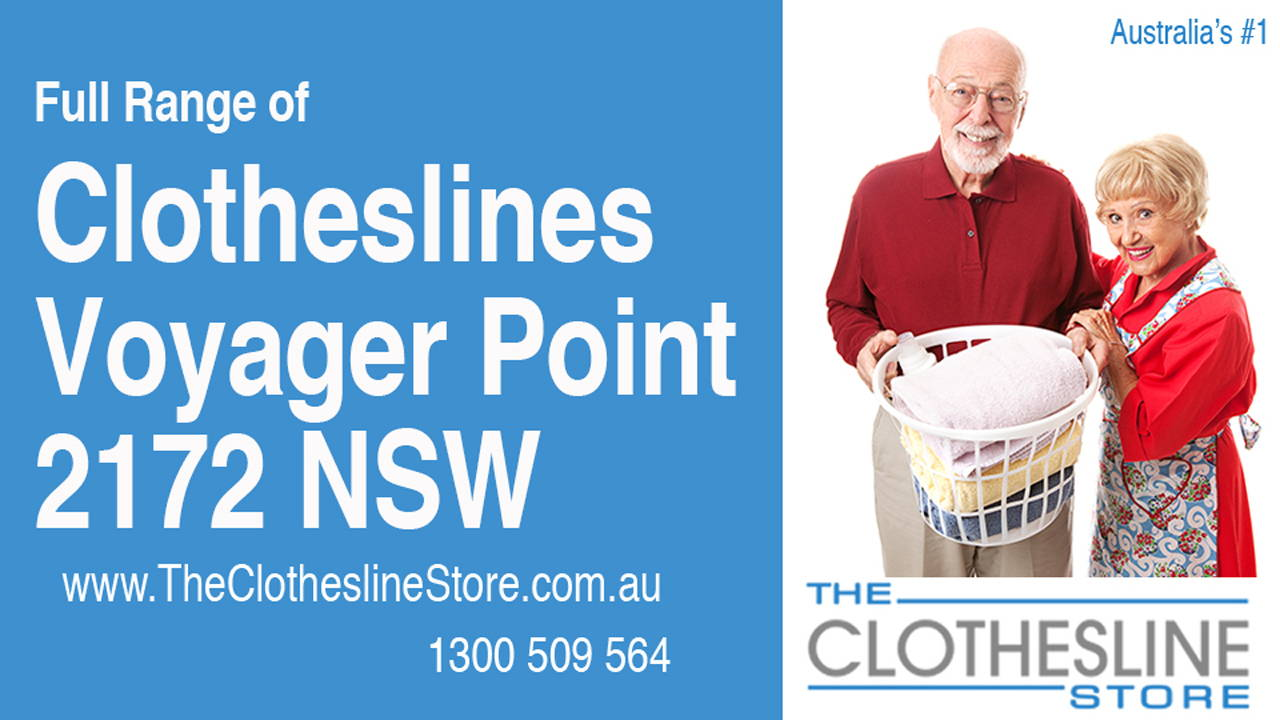 Clotheslines Voyager Point 2172 NSW