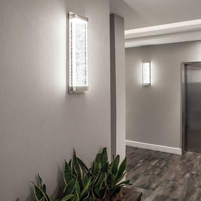dwelLed indoor outdoor wall lights
