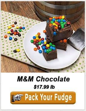 M&M Chocolate Fudge Kid Birthday Present Funny