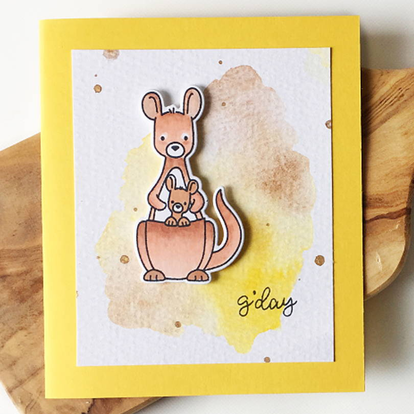 G'Day Mate card by Carolyn Peeler