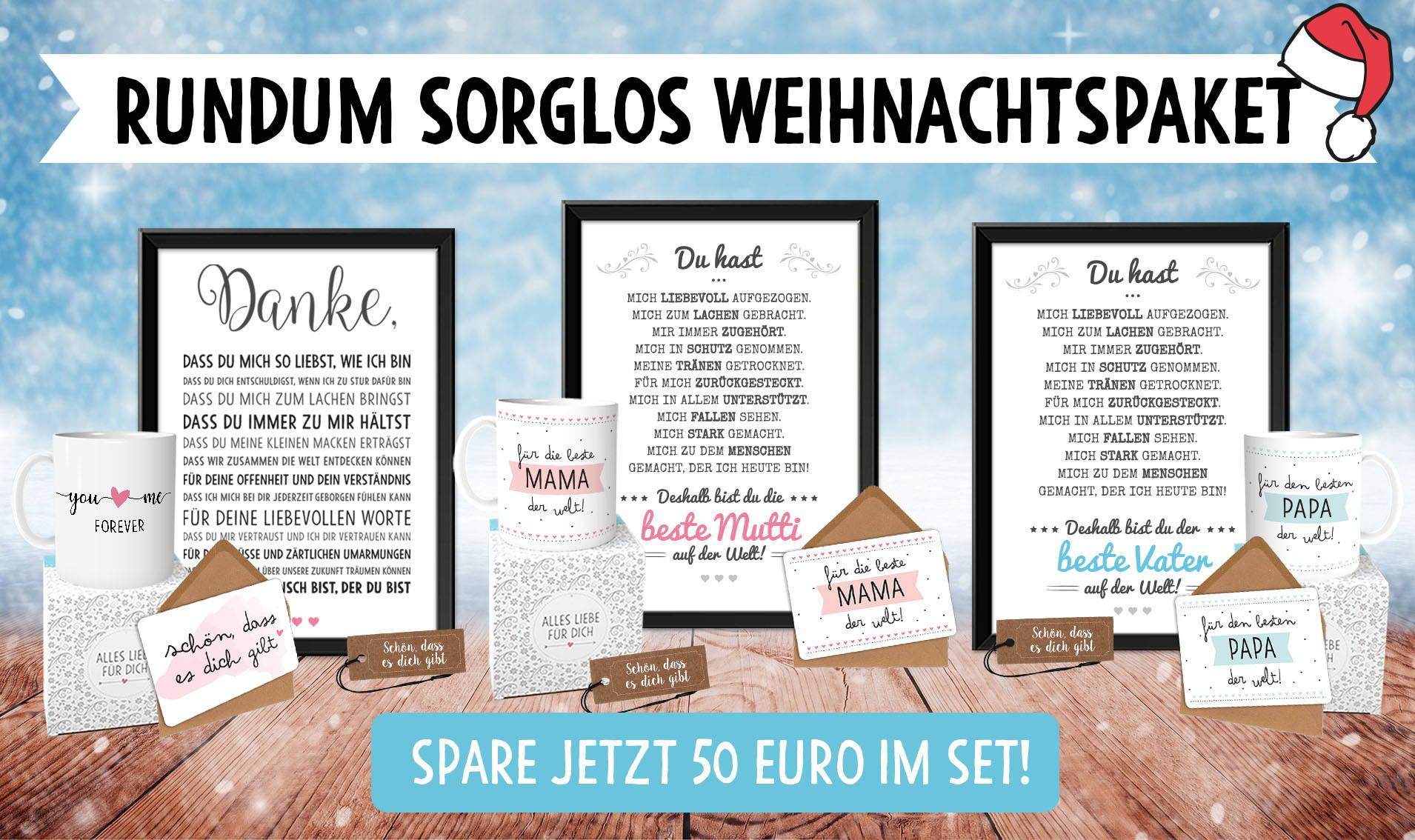 Premium Weihnachts Geschenkset von Owlbook.de