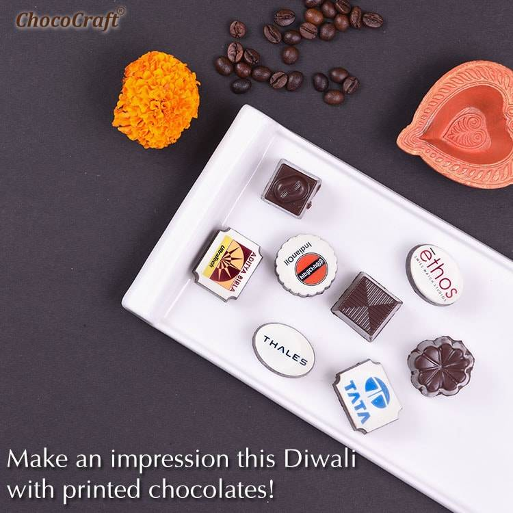 Diwali Gifts for Clients with Printed Chocolates Banner (Mobile)