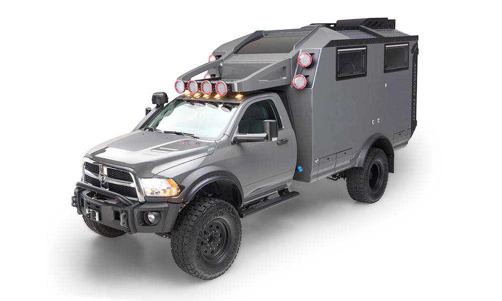 Side view of the Adventure Truck
