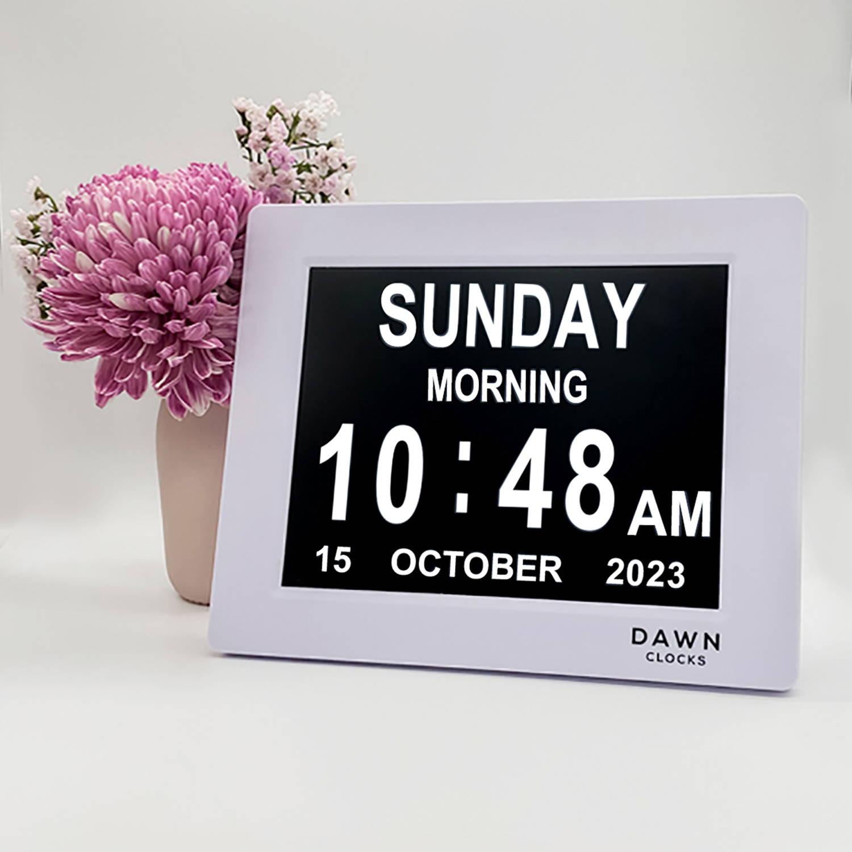Dawn Clock Calendar Reminder Clock