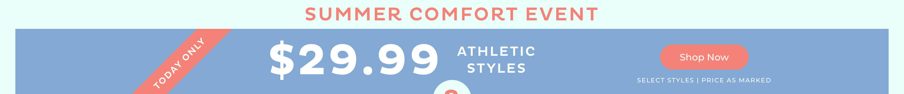 $29.99 Athletic Styles