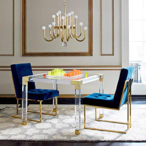 Jonathan Adler Goldfinger Dining Chair