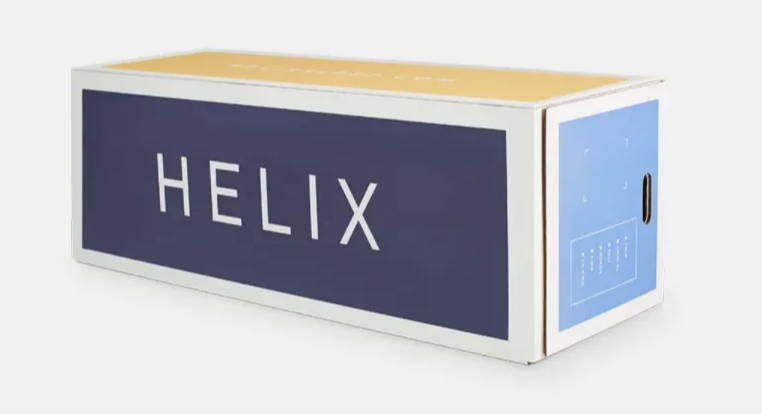 Shipping box for all Helix Standard mattresses