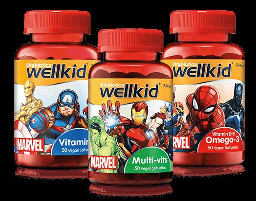 Wellkid Marvel Product Range