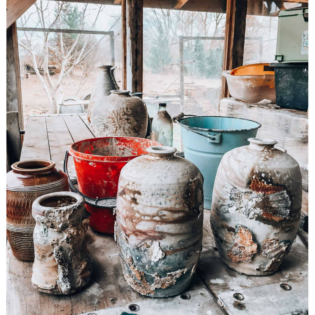handmade ceramics and pottery collection