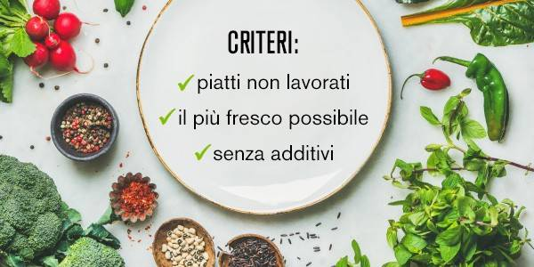 Criteri clean eating