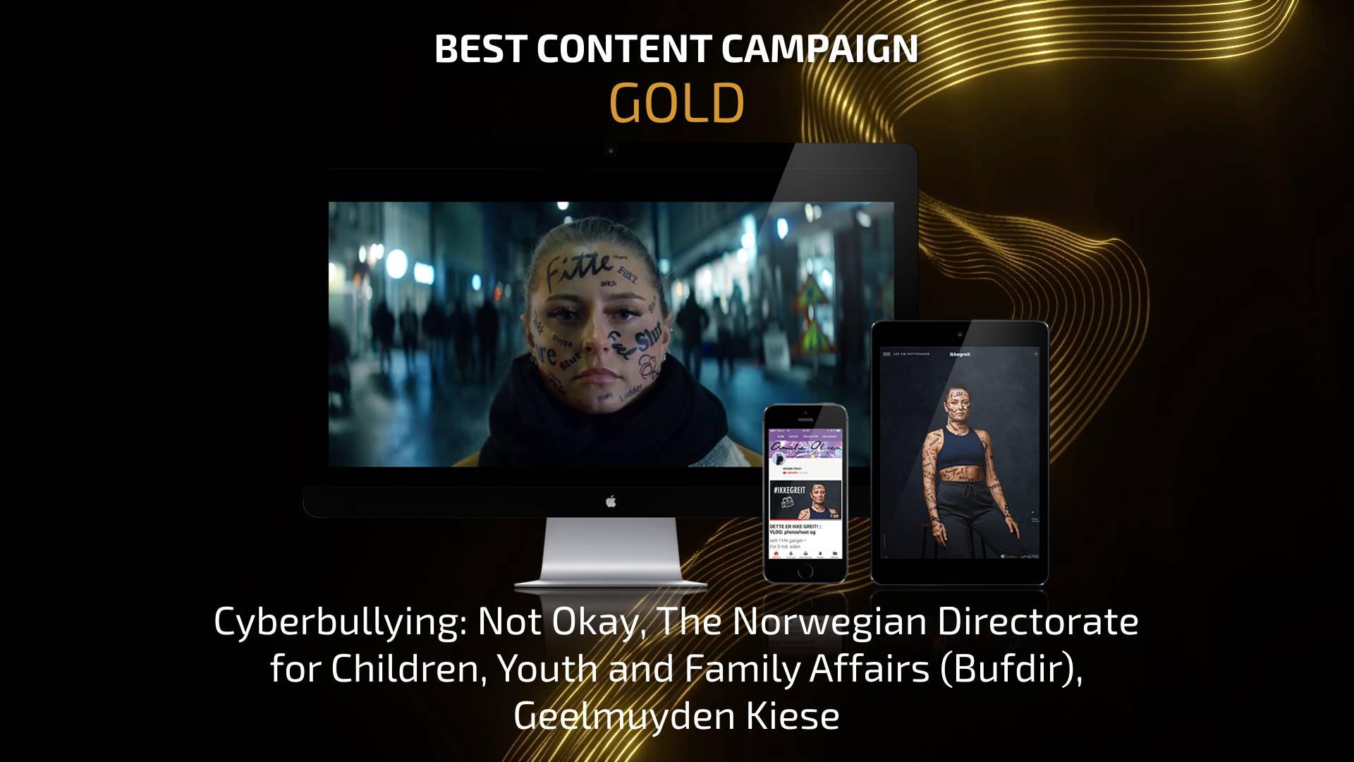 Best Content Campaign - Gold