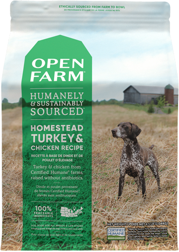 Homestead Turkey & Chicken Dry Dog Food
