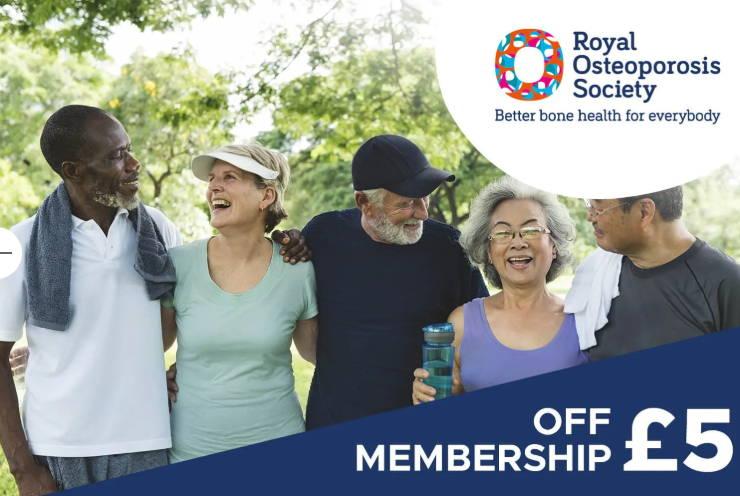 Royal Osteoporosis Society Membership Offer