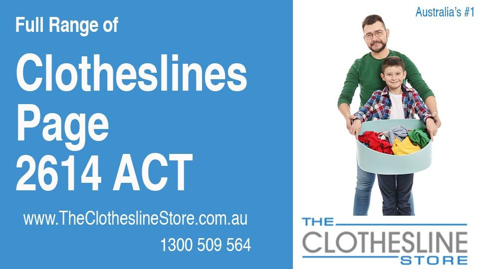 New Clotheslines in Page ACT 2614