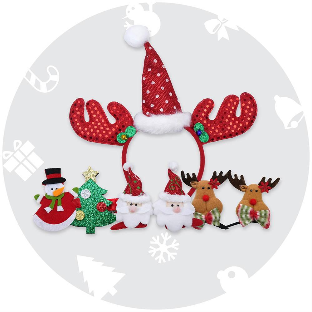 สินค้า Accessories วันคริสต์มาส กิ๊ฟติดผม หมวกคริสต์มาส แว่นแฟนซี่ และอื่นๆ