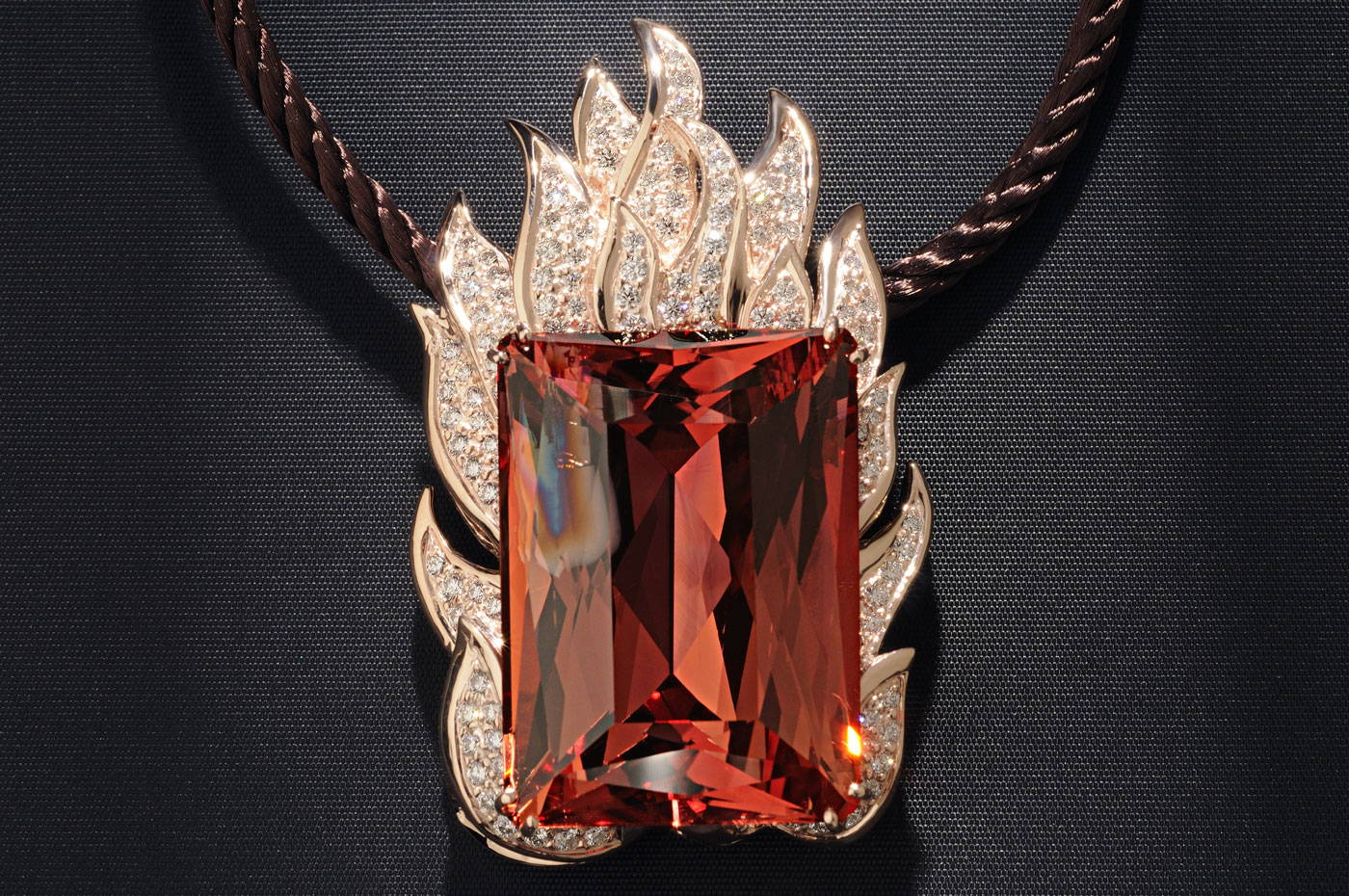 Image of Blaze Necklace by Lester Lampert Museum Project