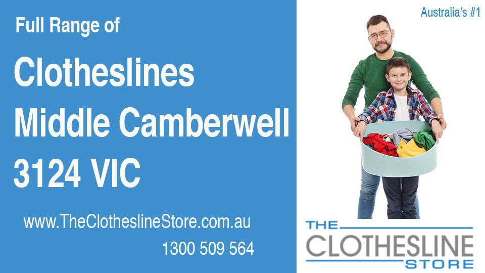 New Clotheslines in Middle Camberwell Victoria 3124