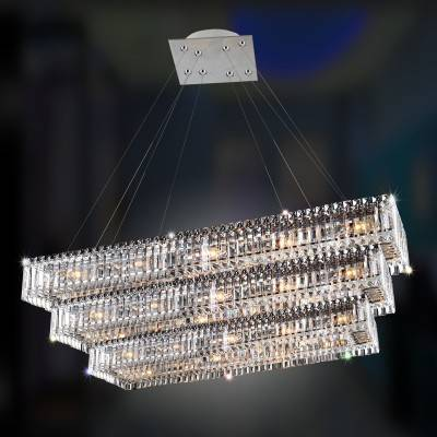 Allegri Lighting Crystal Pendants, Chandeliers, Wall Sconces, & Ceiling Lights -  Baguette Collection