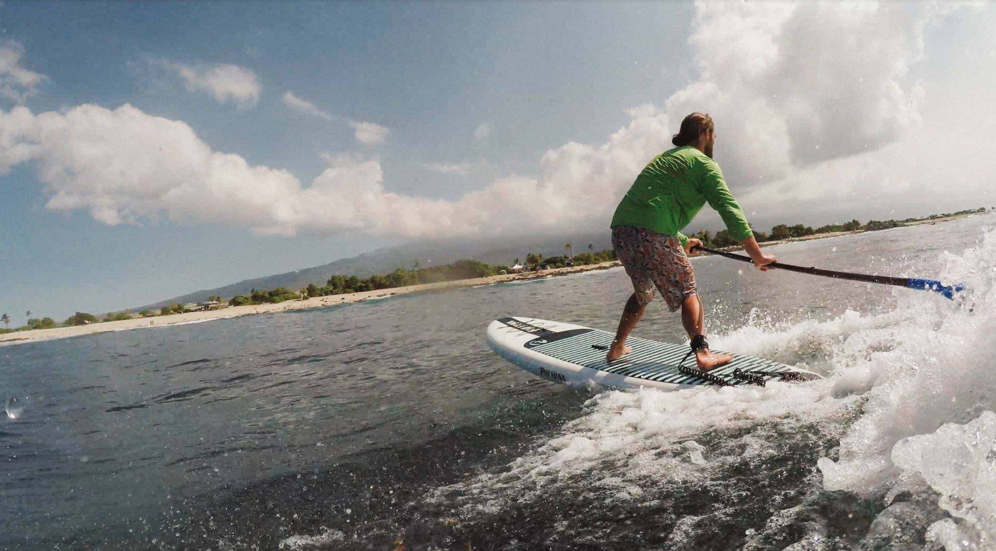 Kevin Surfing Big EZ Air
