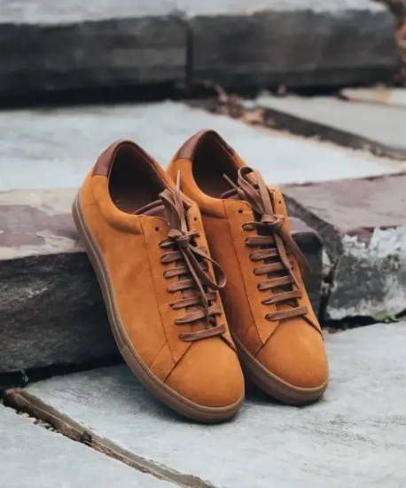 Oliver Cabell Low 1 Suede sneaker