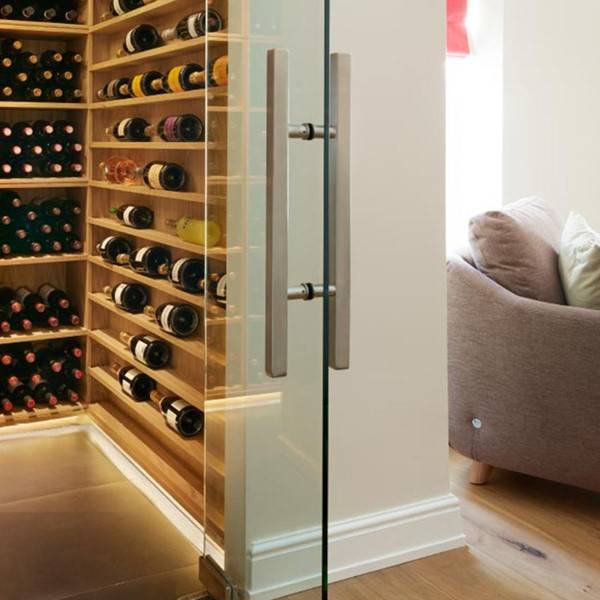 Ladder for wine room